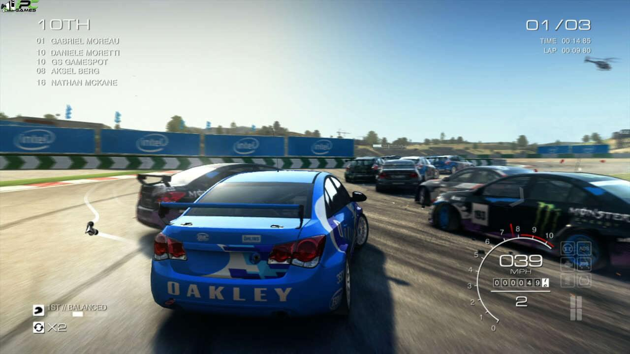 GRID Autosport PC Game v1 0 103 1840+All DLCs Repack Download