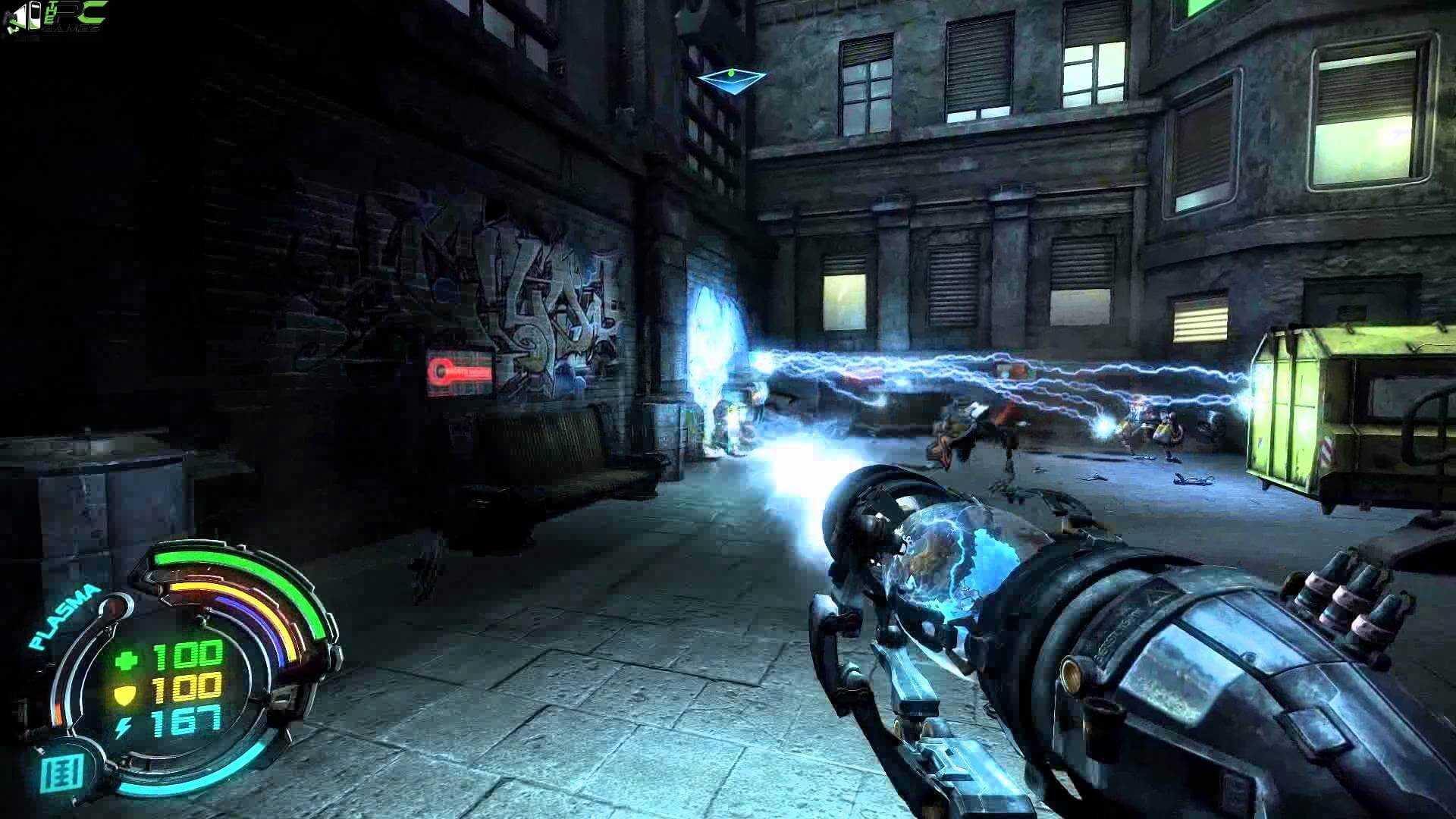 Hard Reset Redux PC Game Highly Compressed Free Download