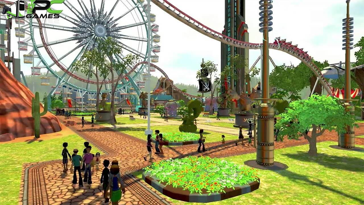 rollercoaster tycoon world free download