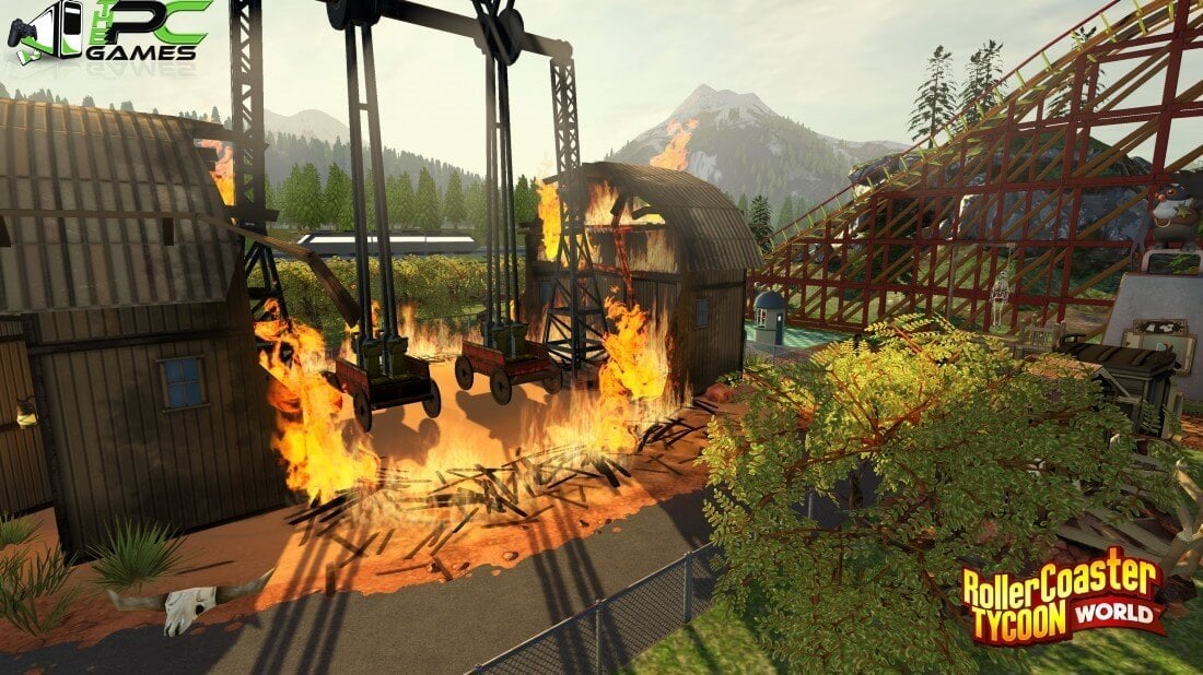RollerCoaster Tycoon World [V61951] Highly Compressed Free