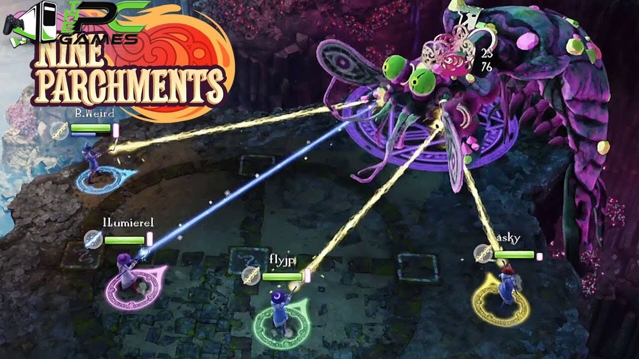 Nine Parchments Astral Challenges pc download