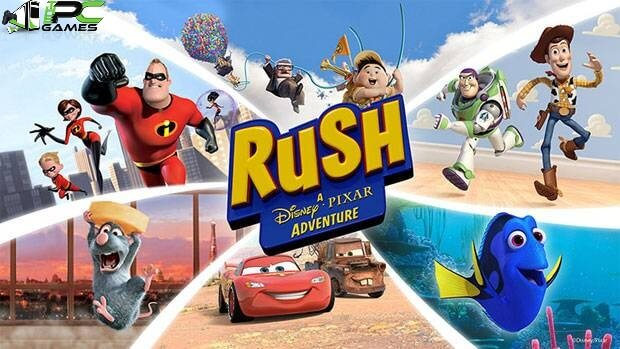 Rush A Disney Pixar Adventure game free download