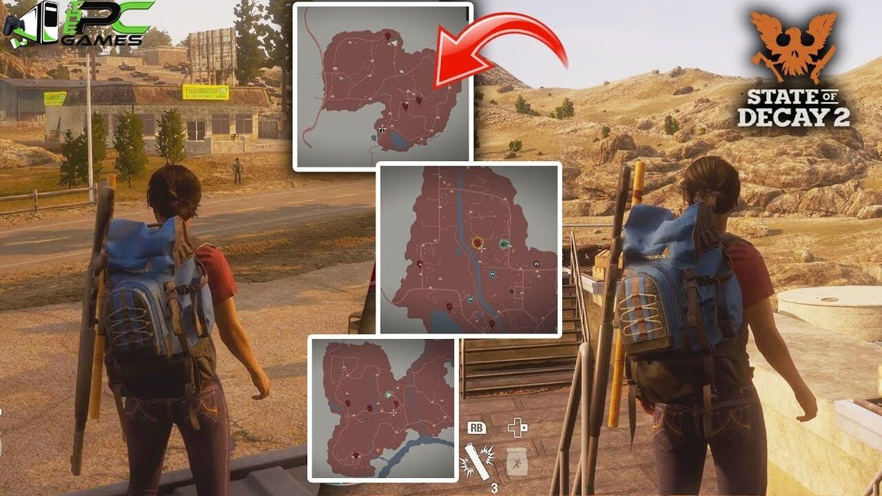 State of Decay 2 PC Game V1 3160 34 2 + 6 DLCs Repack Free
