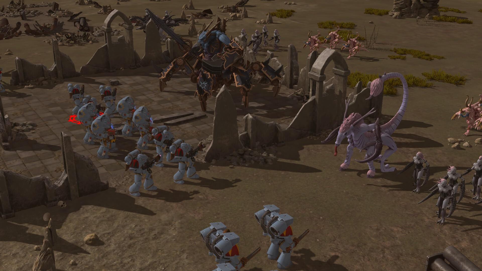 Warhammer 40000 Sanctus Reach Horrors Of The Warp Free