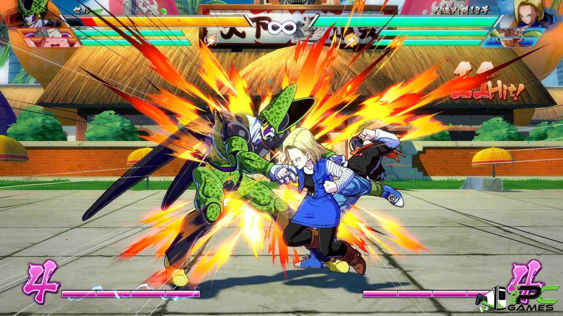 Dragon Ball Fighterz PC Game + DLCs v1 10 Free Download