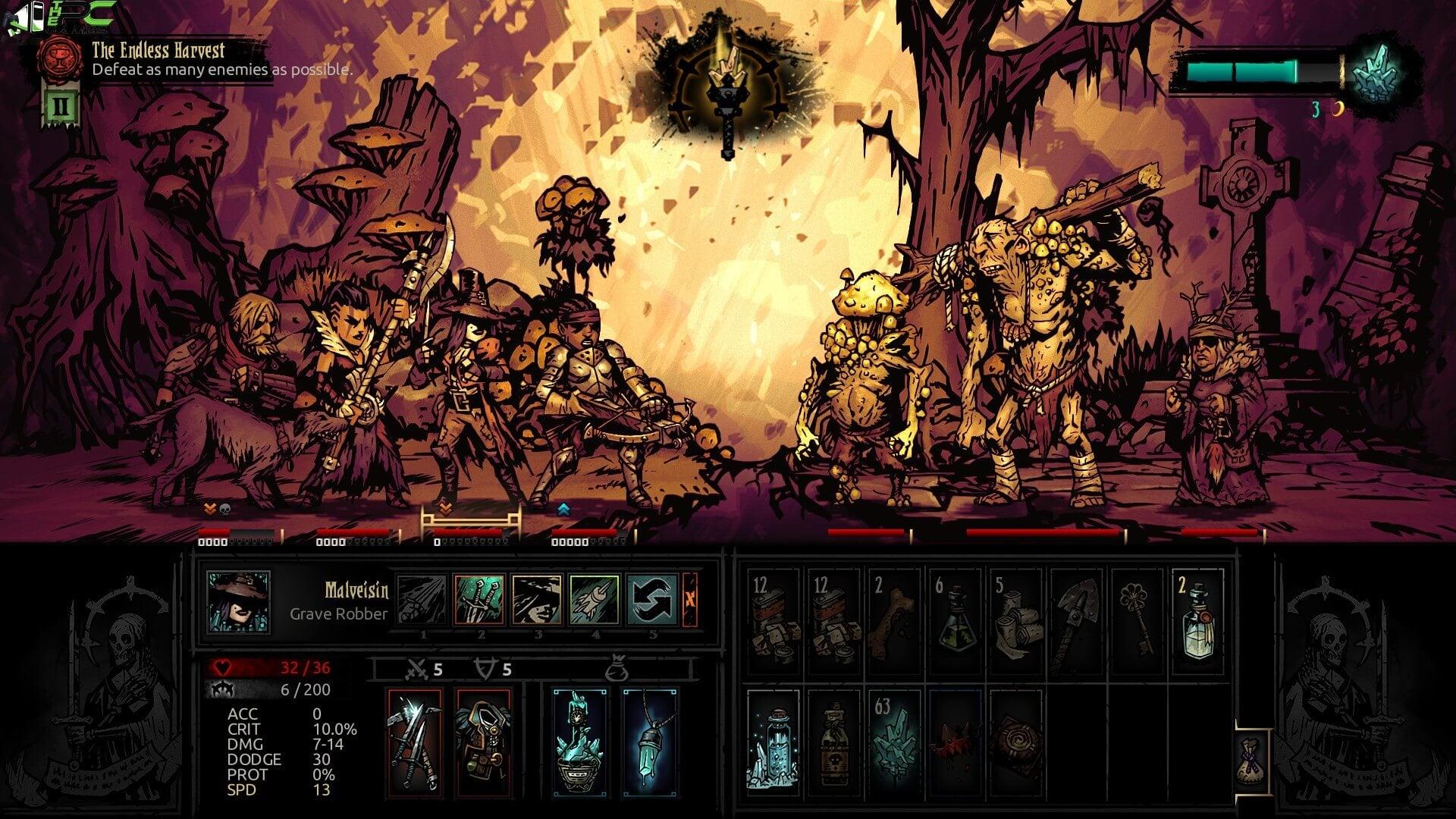 Play darkest dungeon free