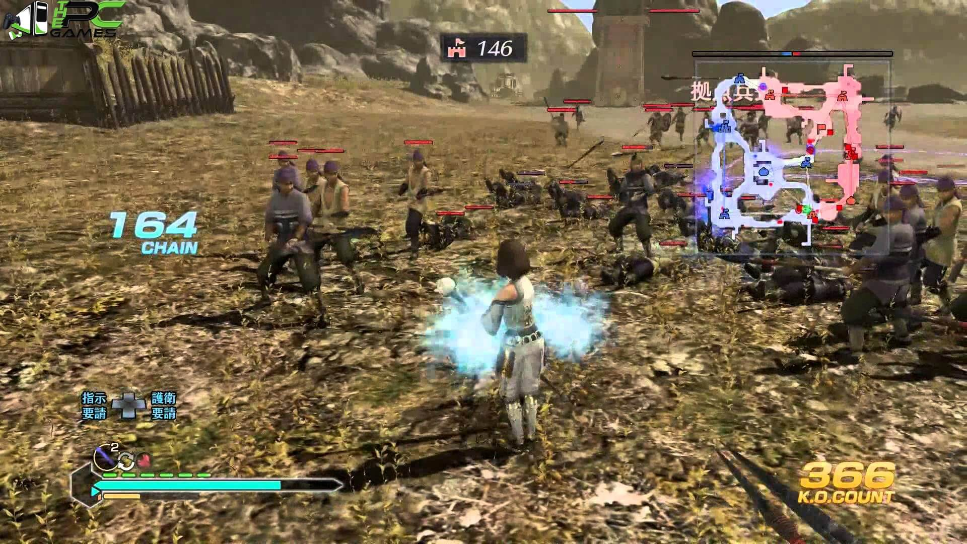 Dynasty warriors pc games