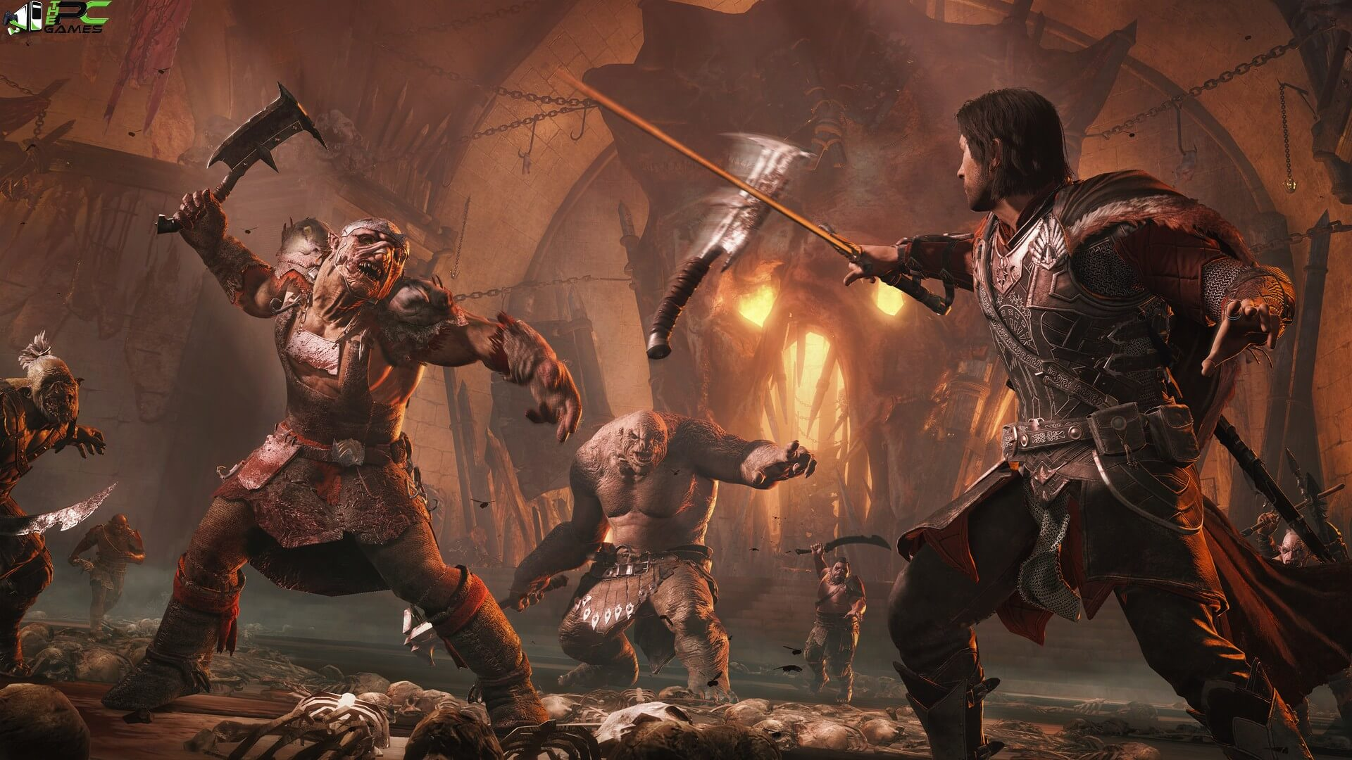 middle earth shadow of war definitive edition gameplay