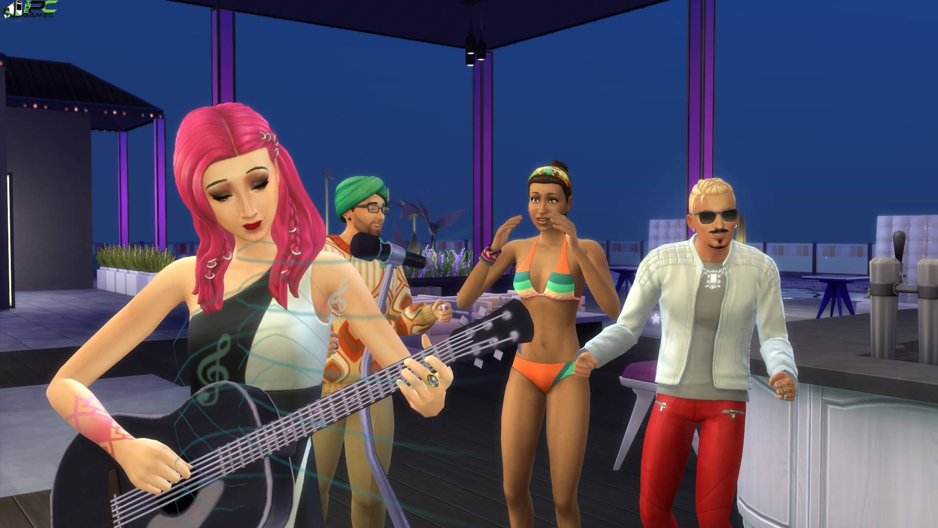 download the sims 4 get famous full
