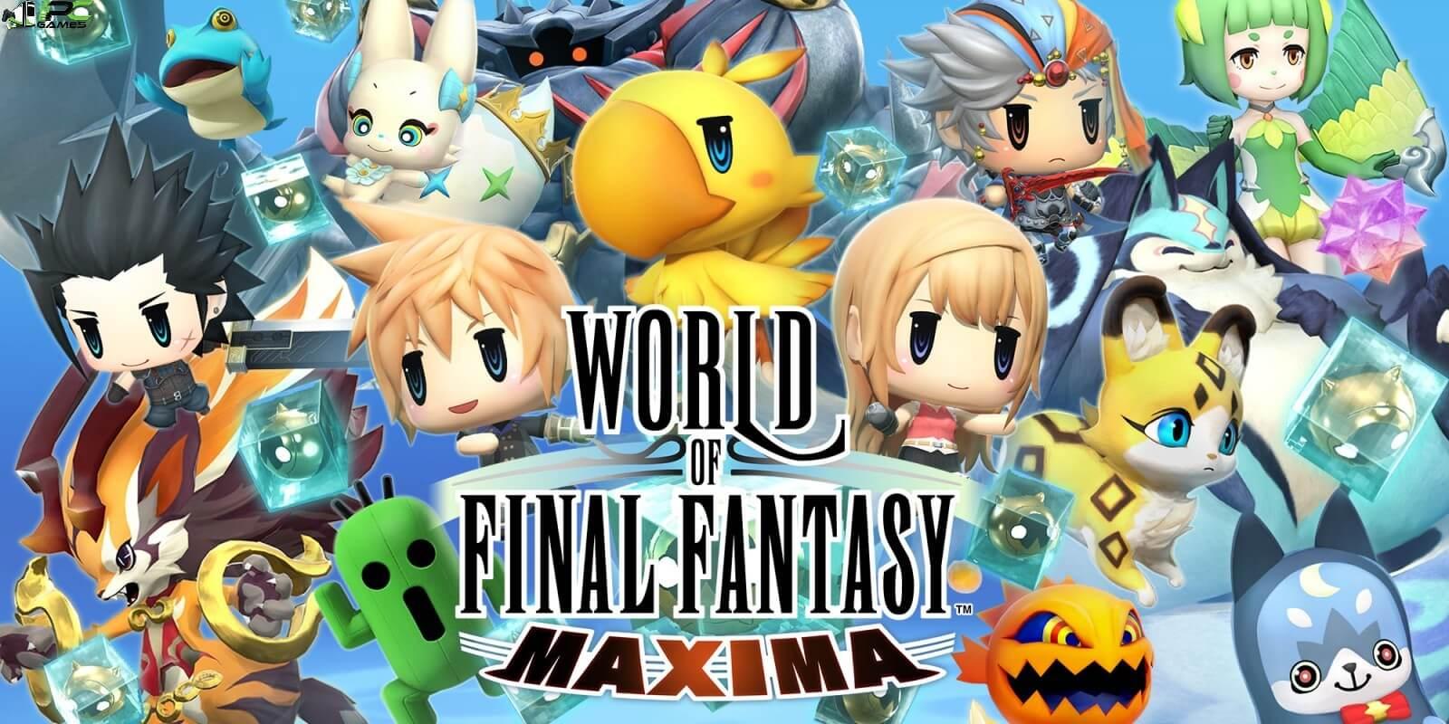 WORLD OF FINAL FANTASY MAXIMA Free Download