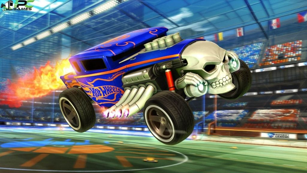 Rocket League Hot Wheels Triple Threat pc game free download