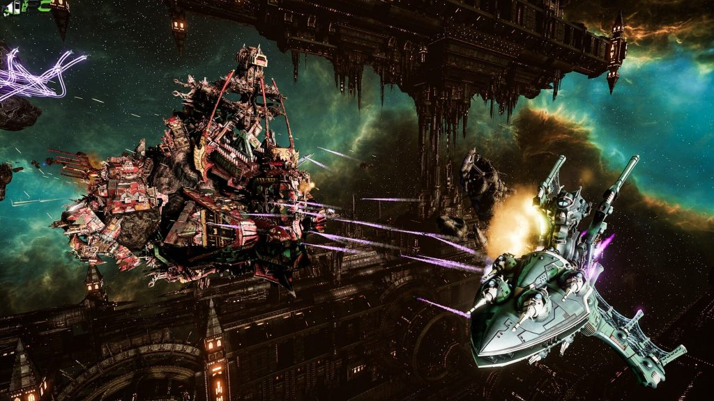 Battlefleet Gothic Armada II PC Game Free Download