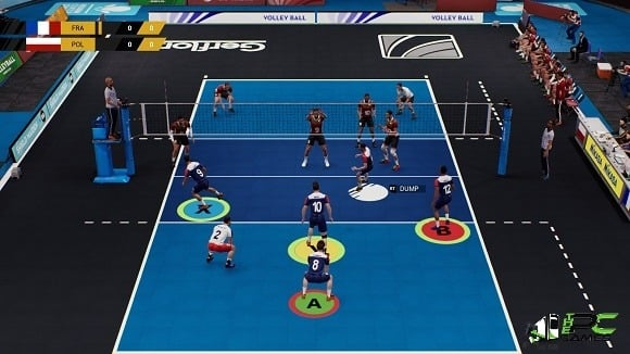 Spike Volleyball game free download