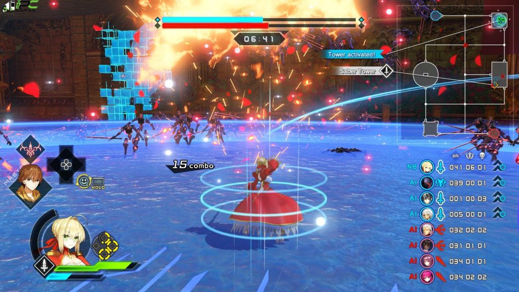 Fate EXTELLA LINK PC Game Free Download