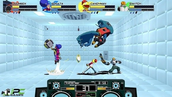 Lethal League Blaze Toxic