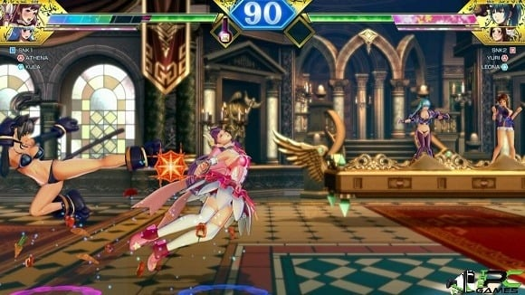 SNK HEROINES Tag Team Frenzy download free