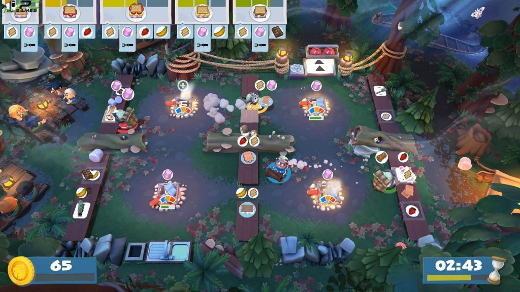 Overcooked 2 Campfire Cook Off Free Download