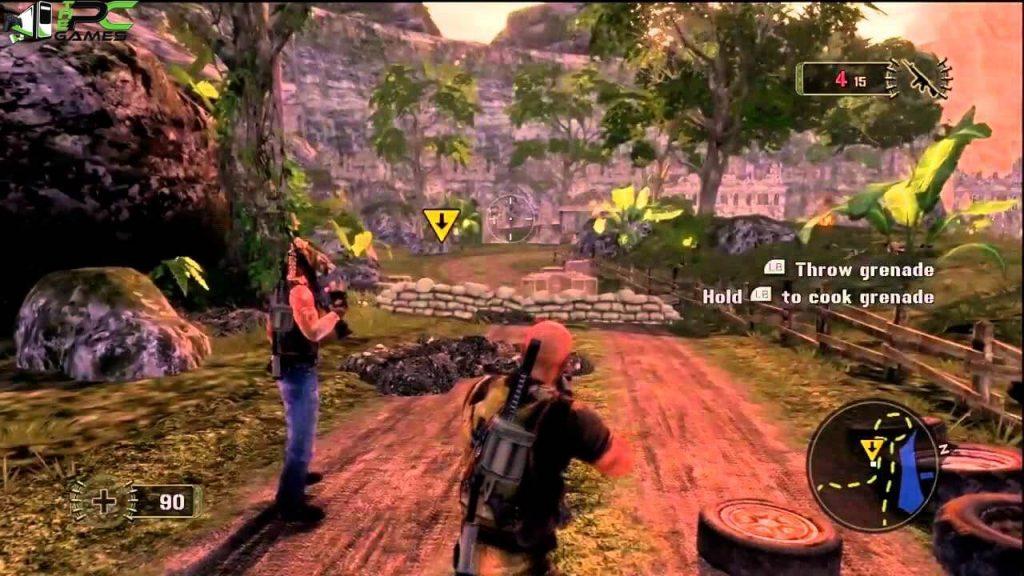 Mercenaries 2 World in Flames download free
