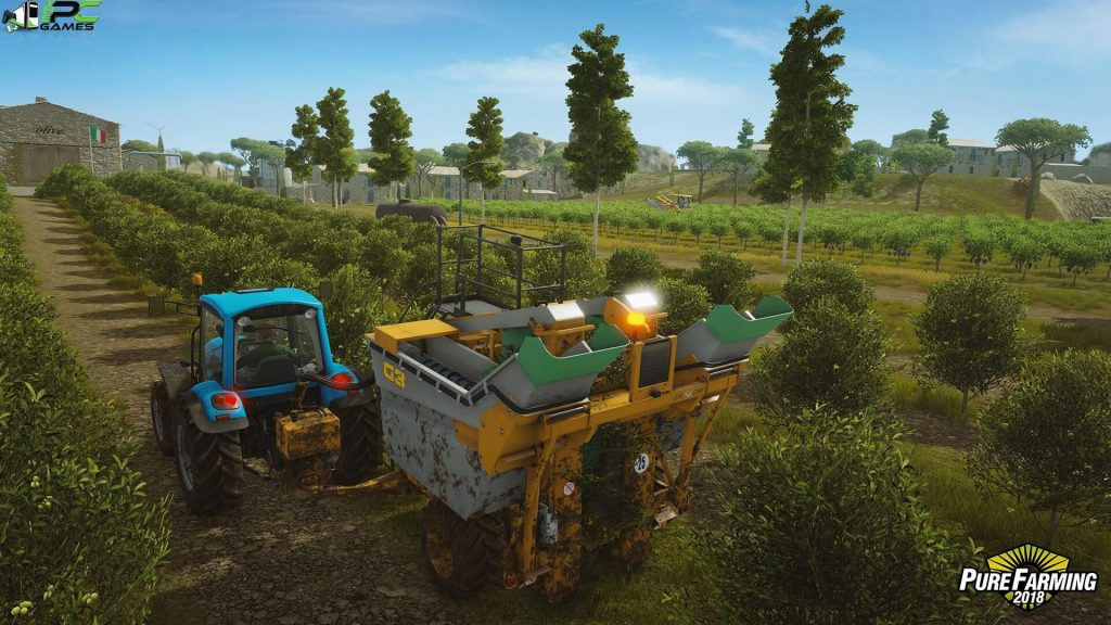 Pure Farming 2018 Big Machines Free Download