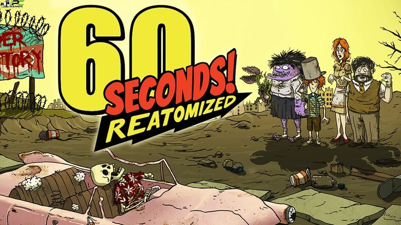 60 Seconds Reatomized Cover