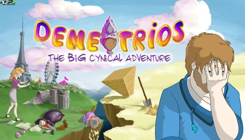 Demetrios The BIG Cynical Adventure Cover