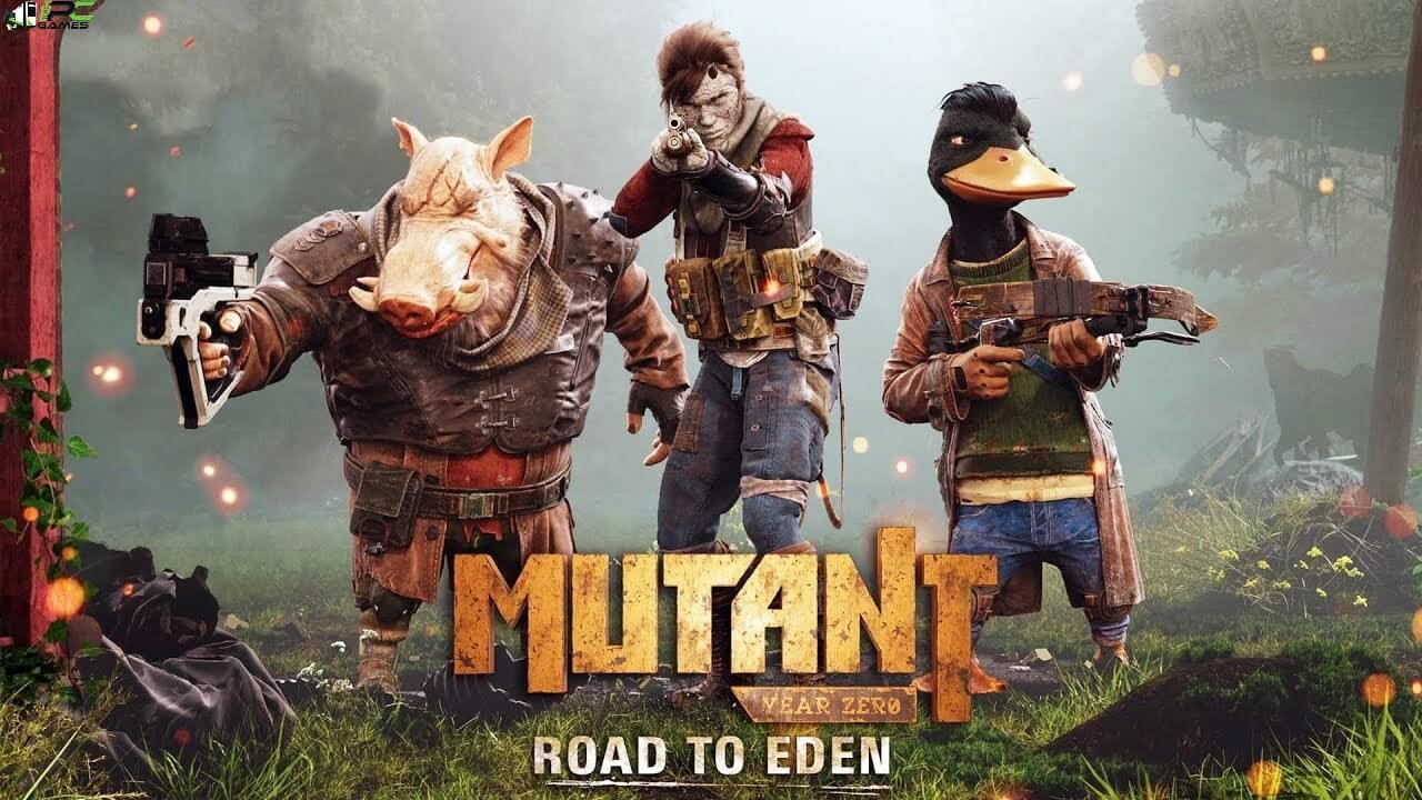 Mutant Year Zero Road to Eden Seed of Evil Cover