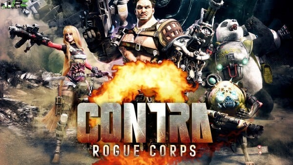 Contra Rogue Corps Cover