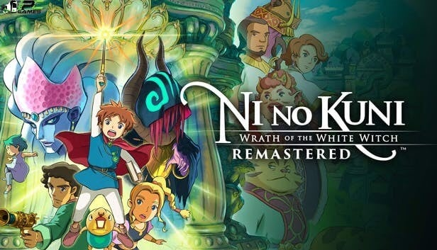 Ni no Kuni Wrath of the White Witch Remastered Cover