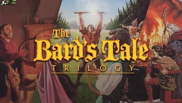 The Bards Tale Trilogy Remastered Cover