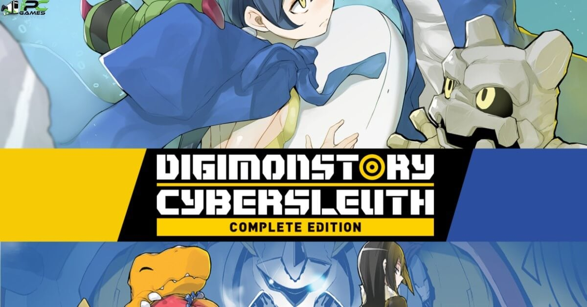 Digimon Story Cyber Sleuth Complete Edition Cover