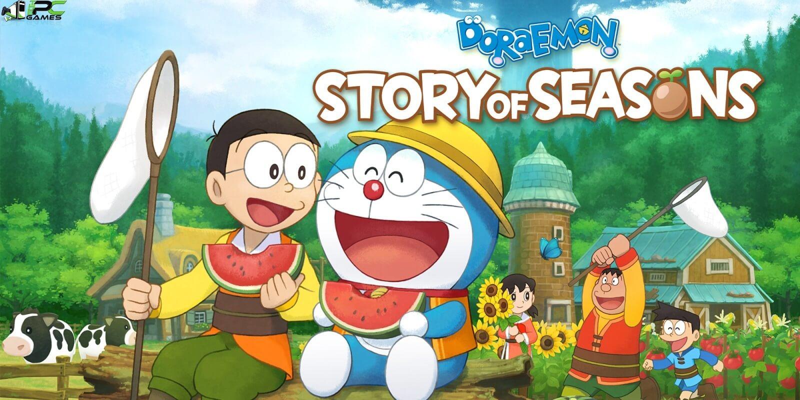 Doraemon Story of Seasons Cover