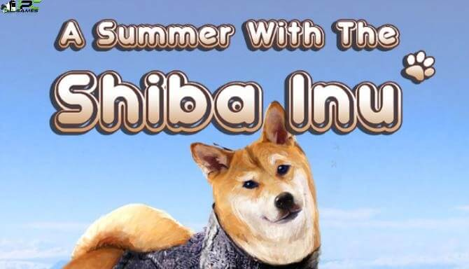 A Summer with the Shiba Inu Cover