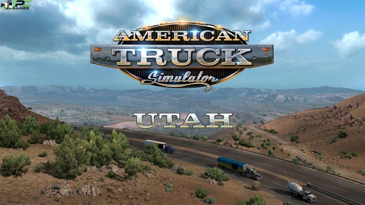 American Truck Simulator Utah Cover