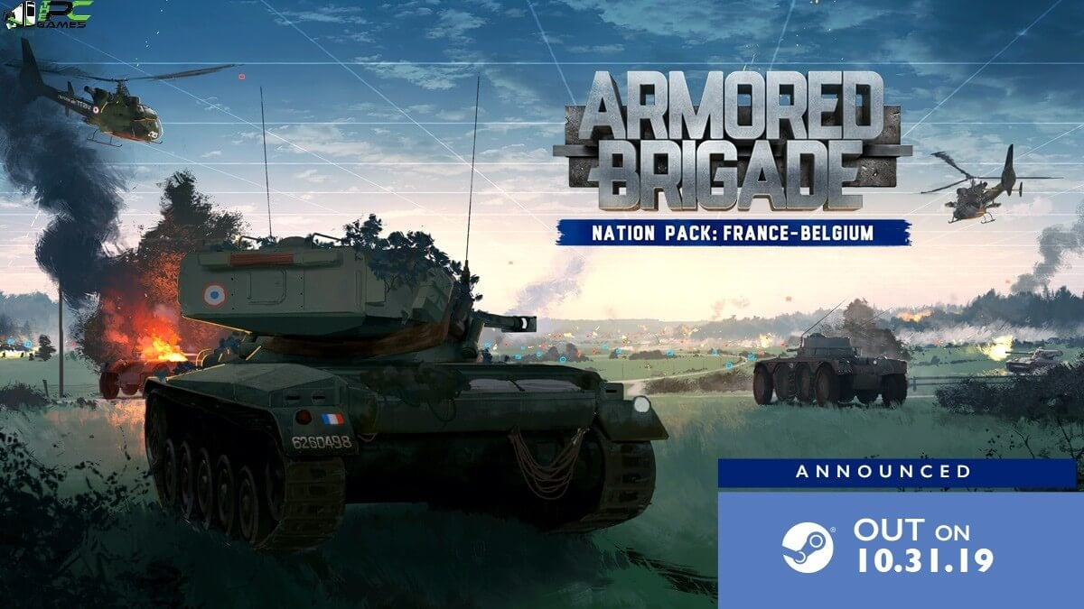 Armored Brigade Nation Pack France Belgium Cover
