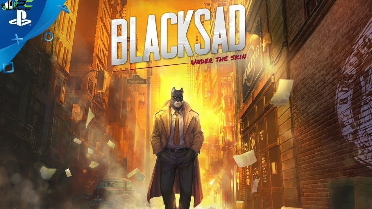 Blacksad Under the Skin Cover