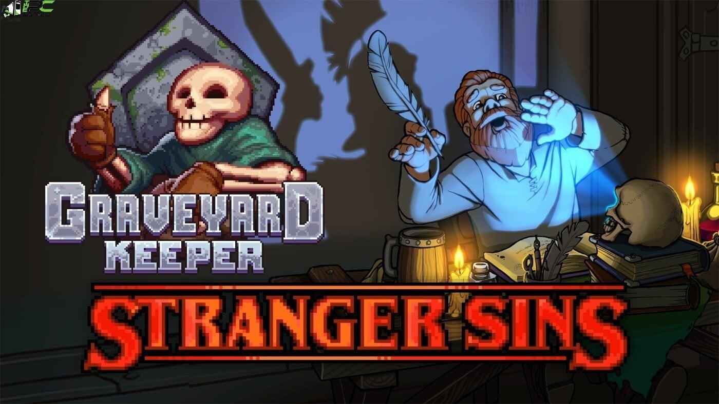 Graveyard Keeper Stranger Sins Cover