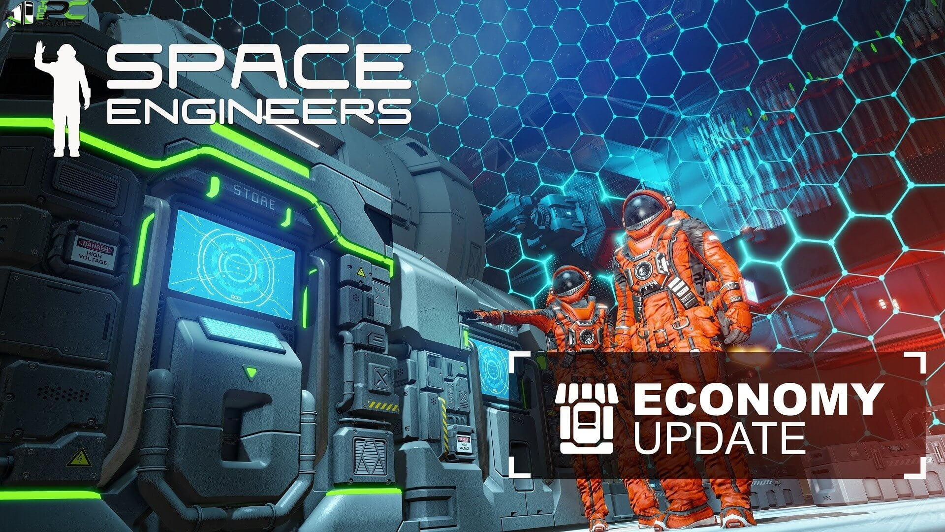 Space Engineers Economy Cover