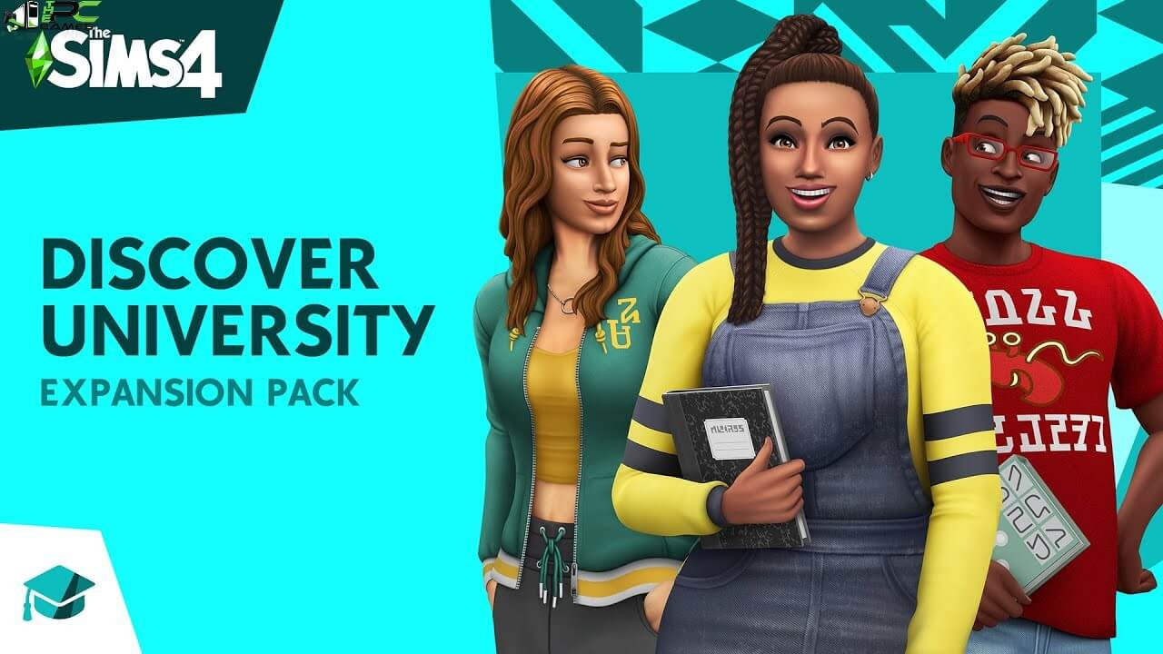 The Sims 4 Discover University Cover