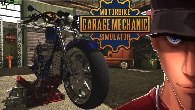 Biker Garage Mechanic Simulator Cover