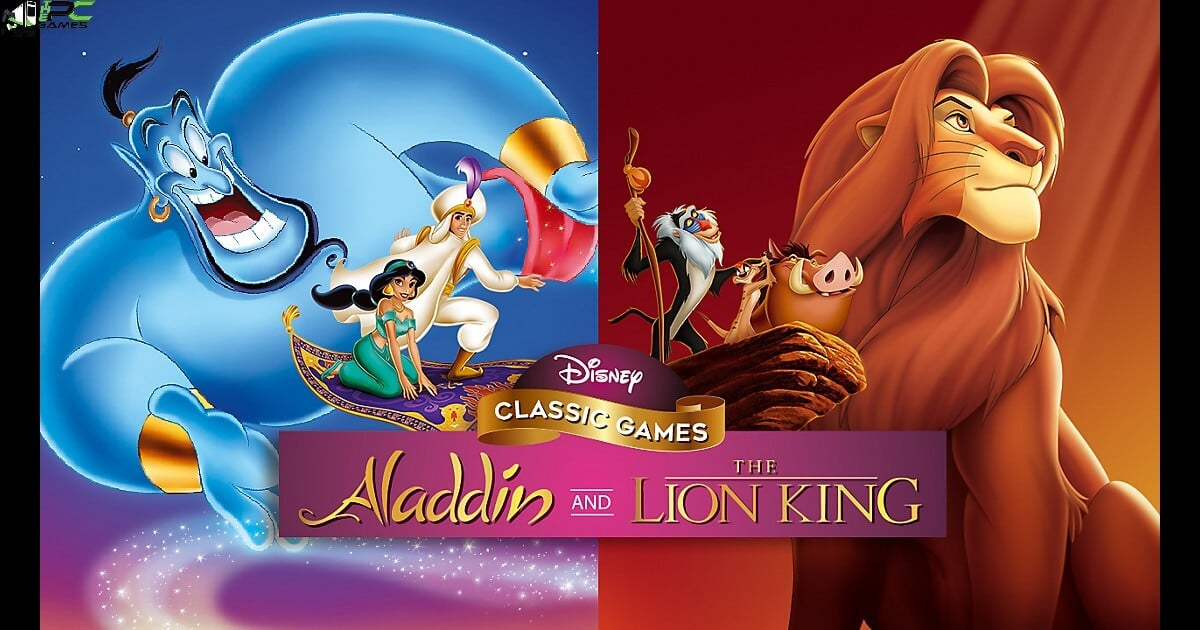 Disney Classic Games Aladdin and The Lion King Cover