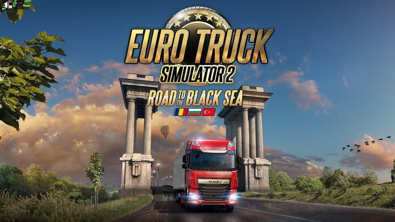Euro Truck Simulator 2 Road to the Black Sea Cover