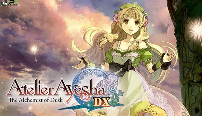 Atelier Ayesha The Alchemist of Dusk DX Cover