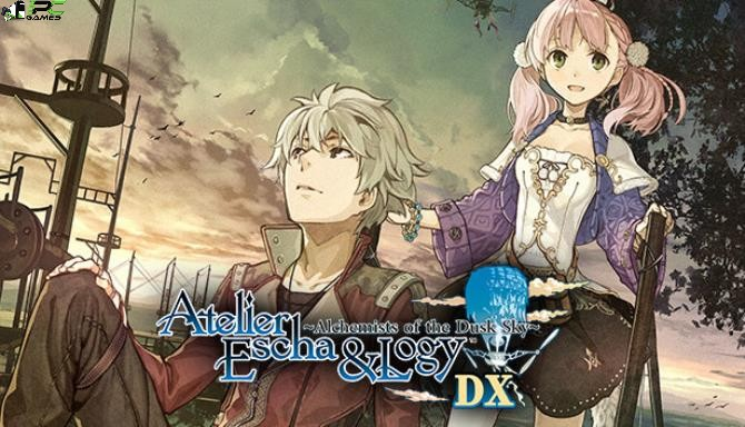 Atelier Escha and Logy Alchemists of the Dusk Sky DX Cover