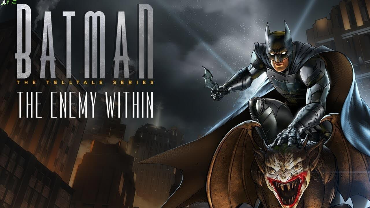 Batman The Enemy Within The Telltale Series Shadows Edition Cover