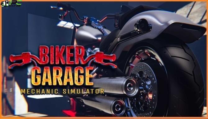 Biker Garage Mechanic Simulator Junkyard Cover