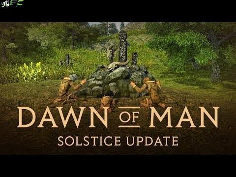 Dawn of Man Solstice Cover