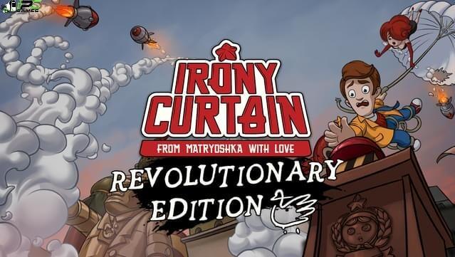Irony Curtain From Matryoshka with Love Revolutionary Edition Cover
