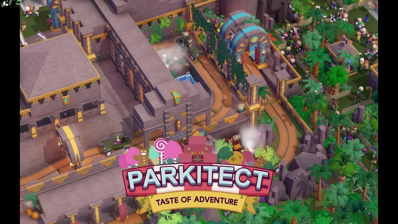 Parkitect Taste of Adventure Cover