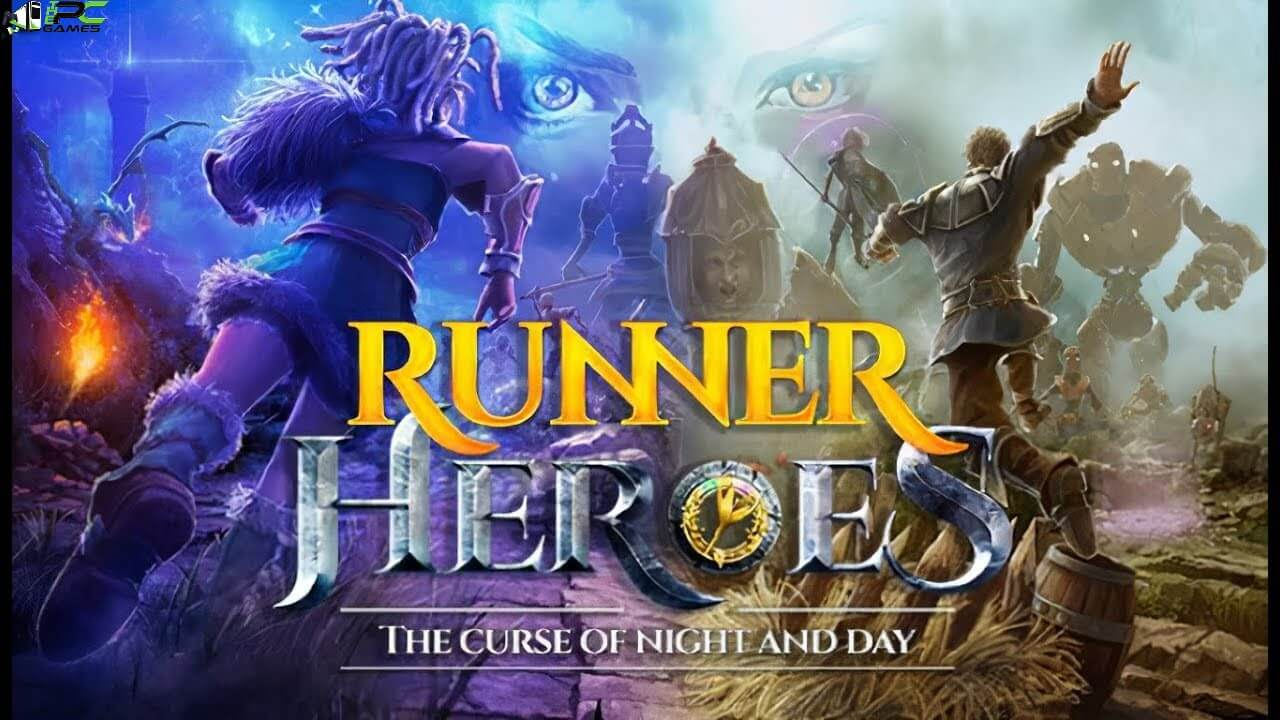 Runner Heroes The curse of night and day Cover