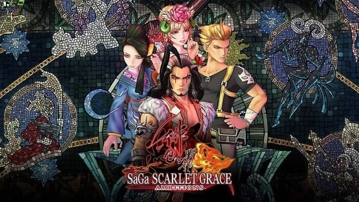 SaGa SCARLET GRACE AMBITIONS Cover